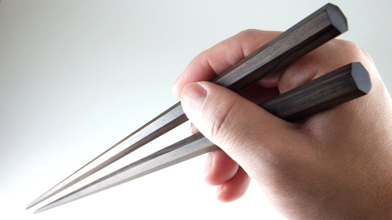 画像5: 極太箸 七角削り